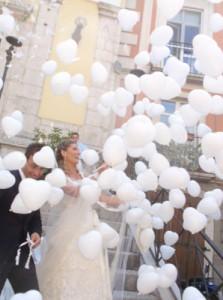 Palloncini pubblicitari matrimoni